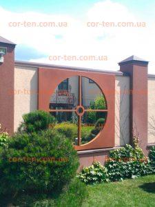 Кортеновская сталь для фасада и ландшафта