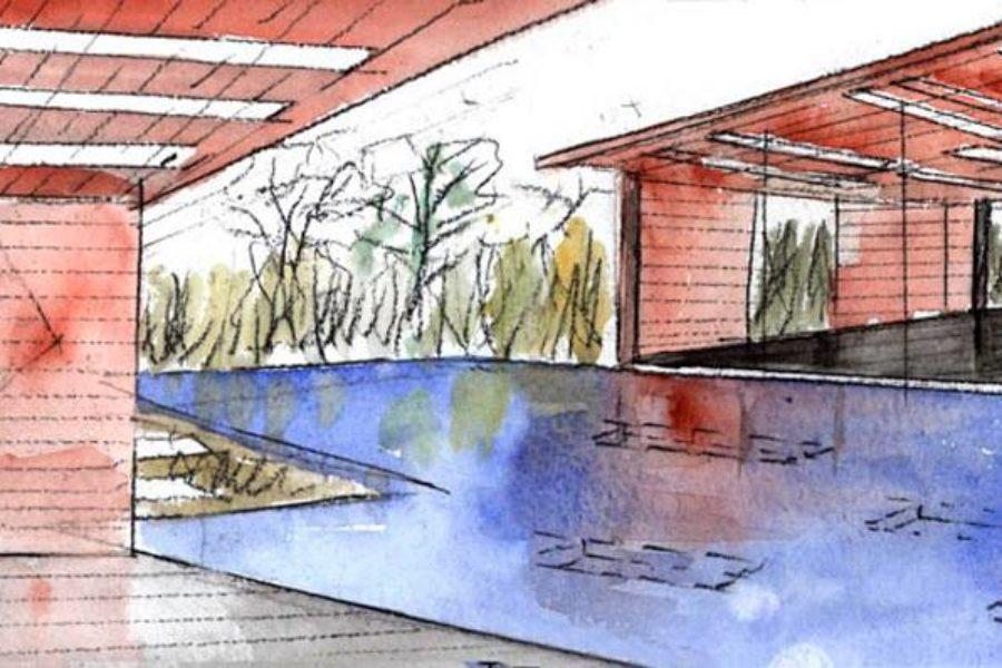 Панели из кортеновской стали для фасада