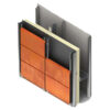 подконструкция для кор-тен, каркасс для кор-тен стали, cor-ten panel, cor-ten панели