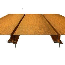 panel cor-ten, рейка кор-тен